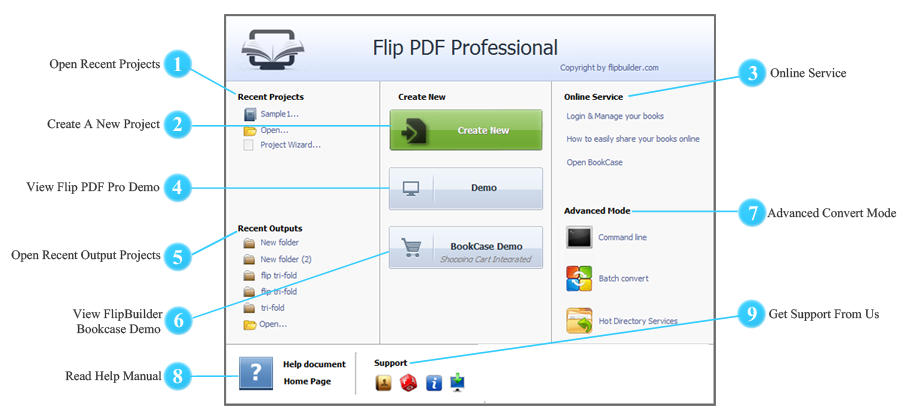 Guida Flip PDF PRO per Windows