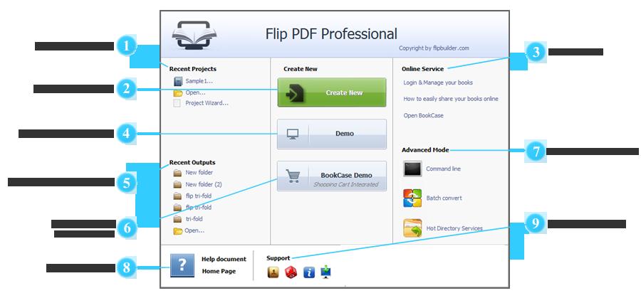Guida Flip PDF PRO per Windows