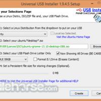 Programma Universal USB Installer 1.9.8.3 Download per Windows / TotaSoftware.com