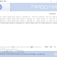 Programma RipBot264 1.23.0 Download per Windows / TotaSoftware.com