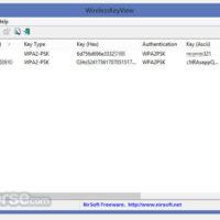 Programma Download di WirelessKeyView (64-bit) (ultimo 2019) per Windows 10, 8, 7