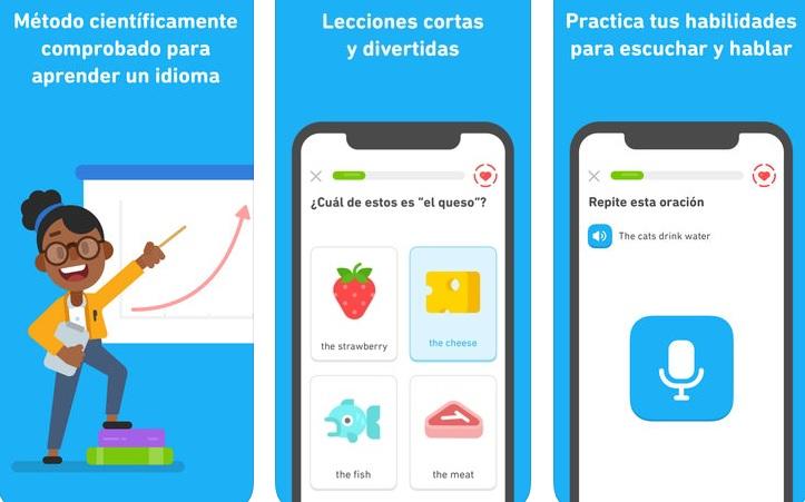 """Le migliori applicazioni per l'apprendimento dell'inglese """"width ="""" 723 """"height ="""" 451 """"/> </p></noscript> <p> Infatti, è proprio negli esercizi in cui Duolingo riesce a sconfiggere i suoi concorrenti. Questi sono presentati sotto forma di minigiochi <strong> </strong> e <strong> domande e risposte </strong> con cui a poco a poco sarete in grado di far progredire la vostra crociata per l'inglese. </p> <p> <img   alt="""