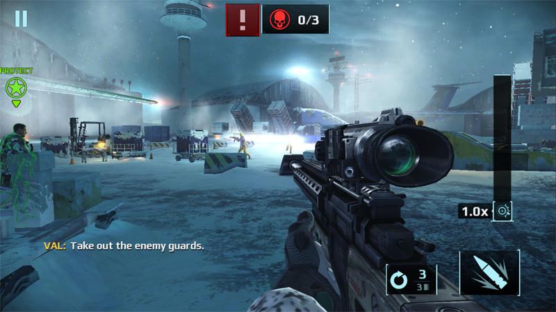 """Videogiochi gratuiti - Sniper Fury """"larghezza ="""" 800 """"altezza ="""" 450 """"/> </p></noscript> <p> Divertiti senza rimpianti a metterti nei panni di un <strong> cecchino </strong> a cui sono state affidate centinaia di missioni. Devi solo definire l'obiettivo, mirare e sparare … sì, in diverse modalità di gioco con varie difficoltà e con la necessità di migliorare armi e personaggi. </p> <p><!-- Start shortcoder --> </p> <p class="""
