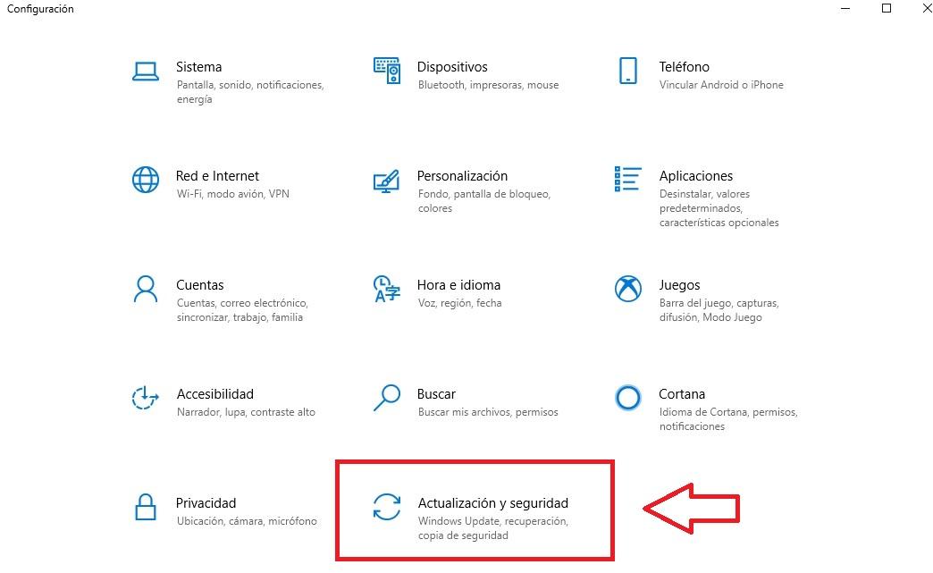 """Come arrivare ad Aggiornamento e sicurezza """"larghezza ="""" 640 """"altezza ="""" 393 """"/> </p></noscript> <p> Già nella nuova finestra fai clic sull'opzione <strong> «Windows Update» </strong> che troverai nel menu a destra. Per finire, fare clic sul pulsante <strong> «Verifica aggiornamenti» </strong> e attendere l'aggiornamento di Windows. È così facile """"</p> <p> <img   alt="""