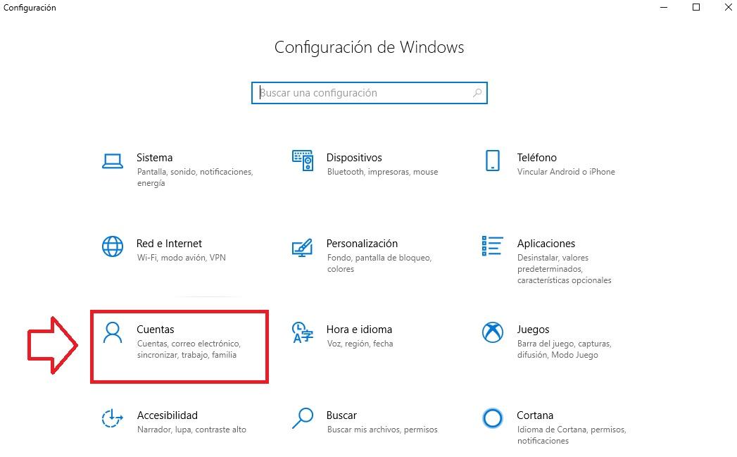"""Come arrivare alla finestra Account """"larghezza ="""" 640 """"altezza ="""" 397 """"/> </p></noscript> <p> Nella nuova finestra premere <strong> «Opzioni di accesso» </strong> nel menu a destra. Verrà visualizzato un nuovo menu in cui è possibile inserire una <strong> password di avvio di Windows </strong> e altri nuovi modi per sbloccare il dispositivo (una chiave di sicurezza fisica, un codice PIN, l'impronta digitale, una password con immagine, riconoscimento facciale, ecc.) </p> <h2> <strong> 3. Assicurati di essere l'unico account della tua squadra con privilegi </strong> </h2> <p> Non tutti gli account Windows sono uguali, ce n'è uno che ti consente di apportare qualsiasi tipo di modifica sul tuo computer senza il consenso di altri utenti. Stiamo parlando di <strong> account amministratore </strong>. Per verificare quali account utente sono collegati al tuo computer, segui questi passaggi. </p> <p> Fai clic sul pulsante <strong> Start </strong> (questa è l'icona con il logo Windows nell'angolo in basso a sinistra dello schermo), quindi fai clic su <strong> Impostazioni </strong> (l'icona della ruota dentato). Puoi accedere a questa stessa finestra premendo il tasto Windows + I. Quindi fai semplicemente clic sul pulsante <strong> """"Account"""" </strong>. </p> <p> <img   alt="""