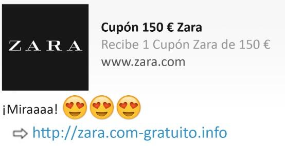 """Buono biglietto Zara """"larghezza ="""" 554 """"altezza ="""" 285 """"/> </p></noscript> <p> La <strong> Zara coupon truffa </strong> si diffonde attraverso un messaggio di WhatsApp che ci incoraggia a fare clic su un link per vincere <strong> € 150 in abbigliamento </strong>. Non farti ingannare! Una volta premuto il pulsante, accederai a un sito Web che ti farà domande per ottenere i tuoi dati e quindi infetterà il tuo telefono con <strong> malware </strong>. </p> <h2> <strong> L'Italia ha scoperto la cura per il coronavirus </strong> </h2> <p> <img   alt="""