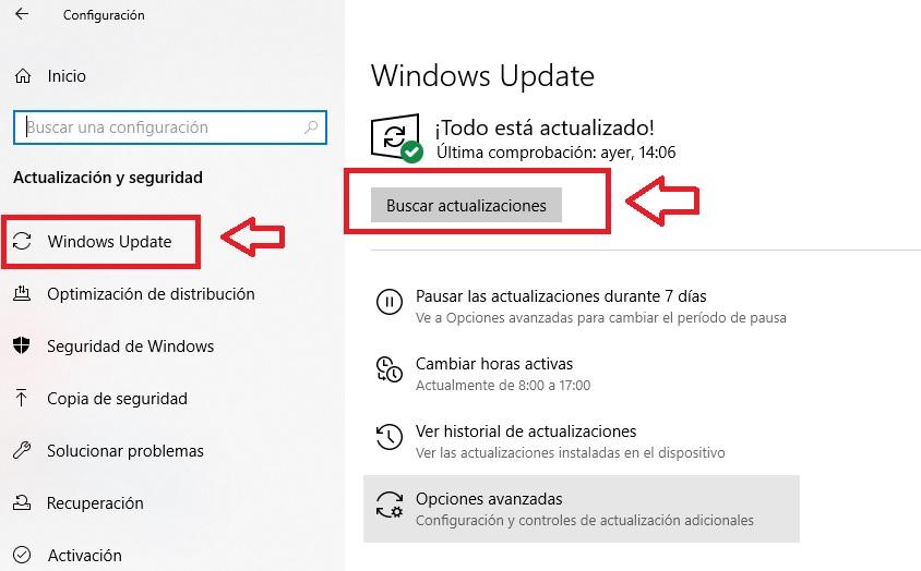 """Interfaccia di Windows Update """"larghezza ="""" 640 """"altezza ="""" 397 """"/> </p></noscript> <h2> <strong> 2. Inserisci una password di sicurezza </strong> </h2> <p> La sicurezza del tuo PC può essere compromessa non solo attraverso Internet, ma anche nella stessa posizione in cui ti trovi. Se usi un computer privato in uno spazio pubblico, come un laptop in una caffetteria, o se sei derubato in casa o in ufficio, <strong> anche i tuoi dati sono a rischio </strong>. Ed è che se non hai stabilito una password di sicurezza <strong> </strong> per accedere al tuo computer, è sempre probabile che cada nelle mani sbagliate. </p> <p> Per impostare una password su Windows 10, segui semplicemente questi passaggi. Fai clic su <strong> Avvia </strong> (questo è il pulsante con il logo di Windows nell'angolo in basso a sinistra dello schermo) e premi <strong> Impostazioni </strong> (l'icona della ruota dentata). Se preferisci, puoi anche premere il tasto Windows + I. Quindi fai clic sull'opzione <strong> «Account» </strong>. </p> <p> <img   alt="""