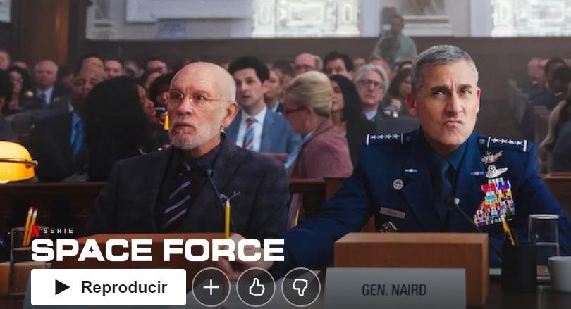 """Forza spaziale su Netflix """"larghezza ="""" 600 """"altezza ="""" 325 """"/> </p></noscript> <p> Space Force è la nuova commedia dei creatori di <strong> The Office </strong>. Questo è anche interpretato da <strong> Steve Carell </strong> e sebbene all'inizio possa sembrare pigro, non ci vuole molto per offrire una buona dose di umorismo. La serie ha ricevuto recensioni positive e negative, quindi se ti è piaciuto The Office, vale la pena dare un'occhiata. </p> <h2> <strong> The Umbrella Academy </strong> </h2> <p> <img   alt="""