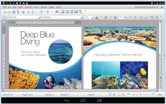 """Office HD per Android """"larghezza ="""" 554 """"altezza ="""" 348 """"/> </p></noscript> <p> <strong> Office HD: TextMaker BASIC </strong> fa parte della suite per ufficio Office HD completa disponibile gratuitamente per i telefoni Android. Come puoi immaginare, questa è la versione mobile del classico Desktop TextMaker che offre tutto ciò che puoi aspettarti da un buon elaboratore di testi. </p> <p> Office HD: TextMaker BASIC ha un'interfaccia minimalista <strong> </strong> ed è molto facile da navigare. Ciò è particolarmente utile se, ad esempio, abbiamo bisogno di <strong> per scrivere un lungo testo sul piccolo schermo di un telefono cellulare </strong> senza che ci siano icone o opzioni che potrebbero distrarci dal lavoro. Inoltre, se sei un normale Microsoft Word o TextMaker, non ti costerà nulla imparare a usarlo, poiché è molto simile alle versioni PC di entrambi i processori. </p> <p> Oltre a poter aprire, modificare e creare file nel formato <strong> .doc, .docx, .rtf, </strong> <strong> .html <strong> o <strong> OpenDocument </strong>da TextMaker BASIC per poterli salvare e condividerli facilmente attraverso il cloud. Ma non tutto finisce qui, puoi anche modificarli direttamente da Dropbox, Evernote, OneDrive, Amazon Cloud o Google Drive … Puoi chiedere di più? Puoi scaricare Office HD TextMaker BASIC in modo rapido e comodo. </p> <p class="""