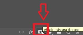 """Aggiungi una maschera di livello """"width ="""" 300 """"height ="""" 129 """"/> </p></noscript> <p> Per aggiungere una maschera di livello tocca semplicemente il pulsante <strong> «Aggiungi maschera di livello» </strong> che troverai nell'angolo inferiore destro della finestra dei livelli. </p> <p> Una volta fatto, vedrai che il livello selezionato apparirà con un <strong> riquadro bianco </strong> che indica che ha una maschera aggiunta. Dipingi in quella scatola con <strong> bianco o nero </strong> a seconda che la parte dello strato sia trasparente o opaca. </p> <h2> <strong> 5.-Correggere le imperfezioni </strong> </h2> <p> <img   alt="""