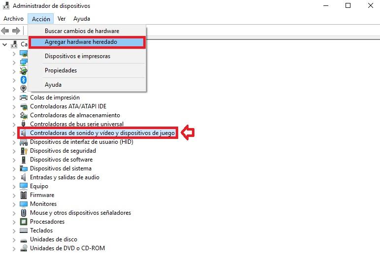 """Dispositivo audio non disponibile """"width ="""" 600 """"height ="""" 418 """"/> </p></noscript> <p> A volte il tuo computer Windows 10 potrebbe interrompere la riproduzione dell'audio e visualizzare il messaggio di errore <strong> """"nessun dispositivo audio installato"""" </strong>. Risolverlo è molto semplice, devi solo seguire questi passaggi. </p> <p> Prima di tutto accedi a <strong> Gestione dispositivi </strong> di Windows 10. Una volta dentro vai alla riga """"Controller audio e video e dispositivi di gioco"""" e seleziona la voce. Quindi fare clic su <strong> """"Azione"""" </strong> seguito da <strong> """"Aggiungi hardware legacy"""". </strong> </p> <p> Segui i passaggi della <strong> installazione guidata </strong> in modo che Windows cerchi automaticamente la soluzione al problema con i dispositivi audio. </p> <p> Se il problema persiste, ti consigliamo di seguire i passaggi di questa guida completa per risolvere il problema. </p> <p class="""