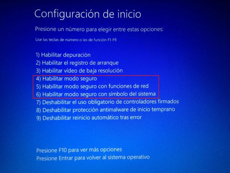 """Modalità provvisoria di Windows 10 """"width ="""" 600 """"height ="""" 450 """"/> </p></noscript> <p> Con l'arrivo di Windows 10, il modo di accedere alla sua <strong> modalità provvisoria </strong> o modalità provvisoria è cambiato. Per fare ciò, sarà necessario accedere al menu di avvio del sistema operativo tenendo premuto il tasto <strong> MAIUSC </strong> e quindi facendo clic sull'opzione <strong> riavvia Windows </strong>. </p> <p> Fatto ciò, accedi alle sue opzioni avanzate e clicca sul pulsante <strong> «Impostazioni di avvio» </strong>. Nella nuova schermata, fare clic su """"<strong> Visualizza altre opzioni di ripristino"""" </strong> e riavviare il computer. Infine, una volta visualizzato il menu di configurazione di avvio del tuo sistema operativo, avrai le seguenti opzioni per avviare la modalità provvisoria: </p> <ol> <li> Abilita modalità provvisoria – Premi 4 o F4 </li> <li> Abilita modalità provvisoria con rete – Premi 5 o F5 </li> <li> Abilita la modalità provvisoria con prompt dei comandi – Premi 6 o F6 </li> </ol> <p> Se desideri saperne di più su come avviare Windows 10 in modalità provvisoria, ti consigliamo di dare un'occhiata alla nostra <strong> guida passo passo </strong>. </p> <p class="""