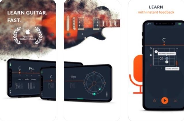 """Uberchord """"width ="""" 600 """"height ="""" 395 """"/> </p></noscript> <p> <strong> Uberchord </strong> è un'ottima risorsa per chiunque voglia imparare a usare una chitarra elettrica. Per molti è come avere un vero insegnante di chitarra all'interno del proprio iPhone. </p> <p> L'applicazione offre <strong> tutorial </strong> e <strong> classi </strong> sull'uso degli archi, il tempo e come leggere gli spartiti musicali. Sono tutti divisi in base alla loro difficoltà e grazie alla loro durata, è molto facile <strong> imparare a suonare la chitarra secondo i tuoi ritmi </strong>. </p> <p> Una delle scommesse più interessanti di Uberchord è che l'app è in grado di <strong> ascoltarti mentre suoni una canzone </strong> e valutarti in tempo reale. In questo modo, puoi adattare il modo in cui suoni la chitarra e migliorare senza nemmeno rendertene conto. </p> <p> Puoi <strong> scaricare Uberchord </strong> completamente gratuito con queste righe. </p> <p class="""