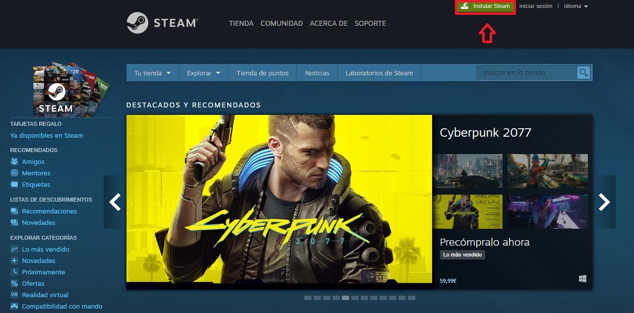 """Pagina ufficiale di Steam """"width ="""" 600 """"height ="""" 297 """"/> </p></noscript> <p> Ora che hai aperto il tuo account Steam, devi scaricare il client della piattaforma <strong> </strong>. Da esso puoi acquistare, giocare, connetterti con i tuoi amici e fondamentalmente usare Steam. </p> <p> Per scaricare e installare il client Steam hai due opzioni. Il primo è visitare il sito Web della piattaforma (fare clic <strong> qui </strong> per visualizzarlo) e quindi fare clic sul pulsante verde <strong> """"Installa Steam"""" </strong>. Dopodiché, il client verrà scaricato sulla tua piattaforma. Una volta completata l'installazione, puoi accedere a Steam utilizzando il tuo nome utente e password. Come seconda opzione puoi anche <strong> scaricare il client Steam </strong> in modo rapido e sicuro dal nostro sito web. Troverai il pulsante di download sotto queste righe. </p> <p class="""