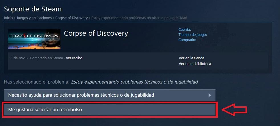 """Richiedi rimborso su Steam """"width ="""" 600 """"height ="""" 270 """"/> </p></noscript> <p> A un certo punto è capitato a tutti noi di acquistare un gioco e di renderci presto conto che non è quello che ci aspettavamo. Se ti trovi in questa situazione, sarai felice di sapere che se non ti piace un gioco che hai acquistato su Steam, puoi restituirlo e richiedere un rimborso.</p> <p> Per richiedere un rimborso su Steam dovrai soddisfare questi due requisiti: </p> <ul> <li> Deve essere trascorso meno di 14 giorni dall'acquisto del gioco. </li> <li> Non puoi aver giocato per più di 2 ore. </li> </ul> <p> Se soddisfi entrambi i requisiti, puoi riavere i tuoi soldi senza alcun problema. Per farlo, vai su Steam tramite il suo client o il sito web e fai clic sull'opzione """"Supporto"""" (fai clic <strong> qui </strong> per accedervi). Ora trova il gioco che desideri restituire e fai clic su di esso per accedere alla sua pagina di supporto. </p> <p> Una volta nella pagina del gioco, fai clic sull'opzione <strong> """"Non è quello che mi aspettavo"""" </strong> seguito da <strong> """"Vorrei richiedere un rimborso"""" </strong>. Steam ti chiederà quindi come desideri che il gioco ti venga restituito, tramite il metodo di pagamento che hai utilizzato o come credito sul tuo portafoglio Steam. Fare clic sull'opzione desiderata e inviare la richiesta. Ora aspetta che Steam esamini la tua richiesta ed effettui il rimborso. </p> <p> Ci auguriamo che la nostra guida di base su Steam ti abbia aiutato quando utilizzi la piattaforma Valve. Qual è il tuo gioco Steam preferito? Condividilo con noi nella sezione commenti! </p> <p class="""