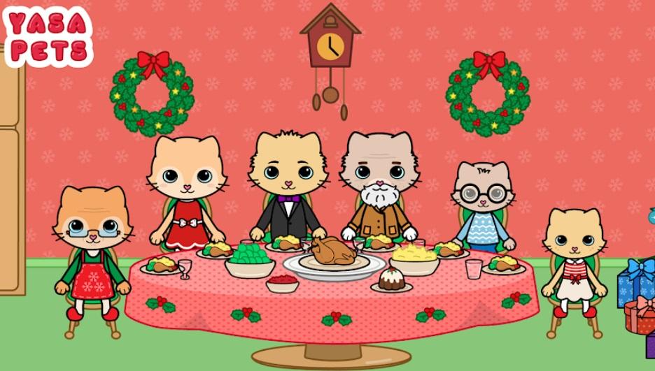 """Yasa Pets Christmas """"width ="""" 600 """"height ="""" 340 """"/> </p></noscript> <p> <strong> Yasa Pets Christmas </strong> è un'affascinante applicazione con cui puoi <strong> goderti la magia del giorno di Natale </strong> più e più volte. Questo ci permette di giocare con tre generazioni di una famiglia di gattini il giorno di Natale. E l'obiettivo del gioco non è altro che giocare, come se fosse coinvolta una <strong> casa delle bambole </strong>con tutti i personaggi e vivere il Natale che hai sempre desiderato. </p> <p> Yasa Pets Christmas è un gioco divertente e francamente carino, <strong> perfetto per i più piccoli di casa </strong>. In esso potrai interagire con centinaia di oggetti della casa dei gatti e creare le tue storie di Natale </strong>. Ad esempio, puoi accogliere i nonni che vengono a trascorrere le vacanze a casa, svegliare i gattini la mattina di Natale, aprire i regali e dare sfogo alla tua immaginazione festosa. </p> <p> Il gioco è <strong> completamente gratuito </strong> e <strong> manca di acquisti in-app </strong>rendendolo un'applicazione perfetta per i bambini (e non così i bambini). Puoi scaricarlo completamente gratuitamente in queste righe. </p> <p class="""